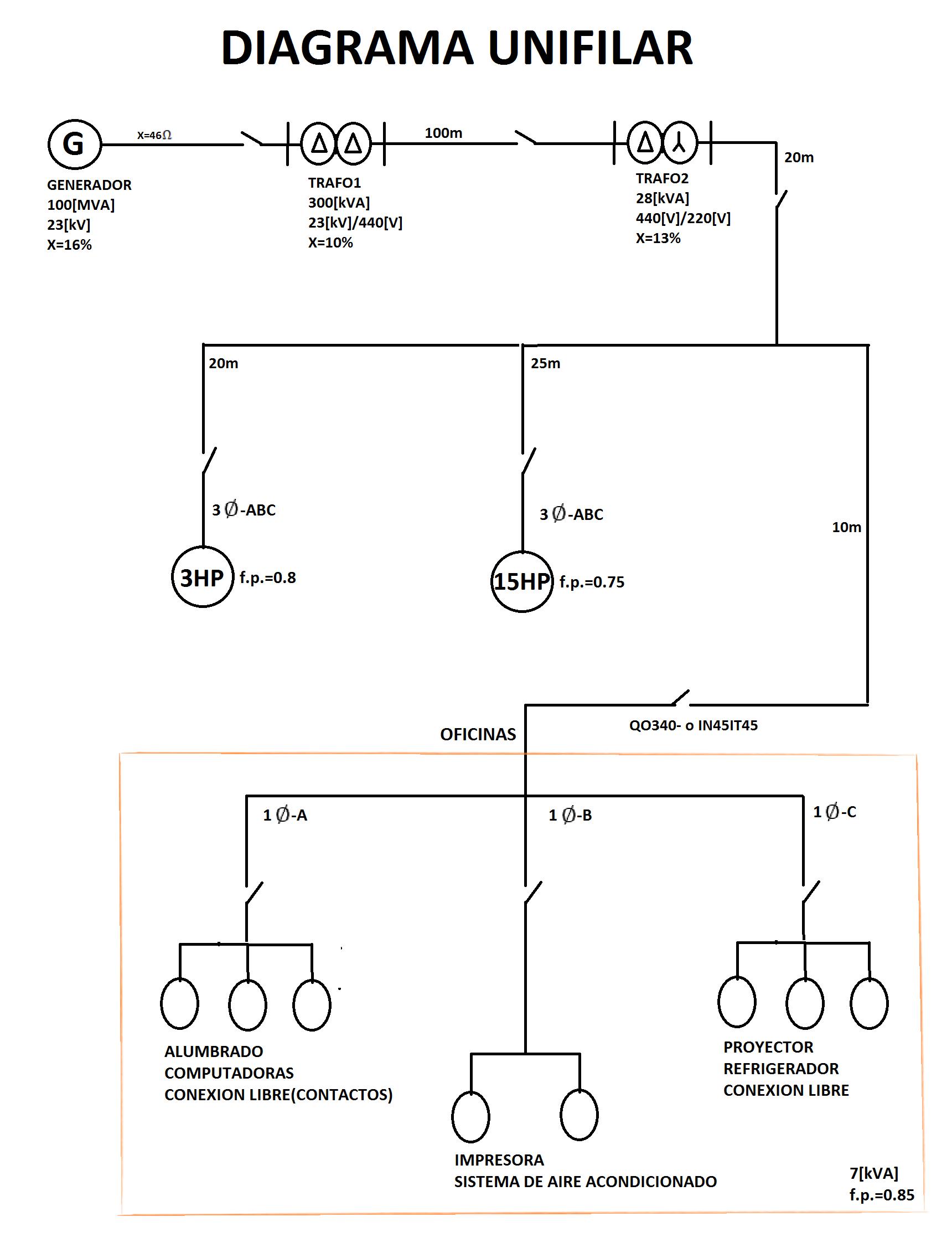 diagrama unifilar electrico casa habitacion  bloques cad autocad arquitectura download d dwg